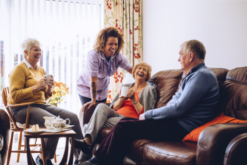 Solving Loneliness: Socializing for Older Adults
